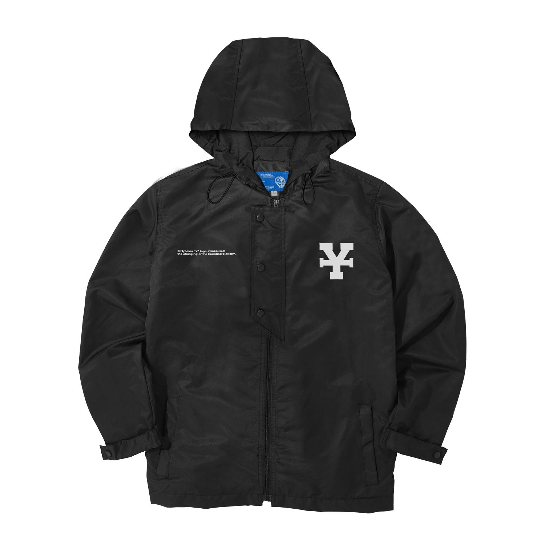 Signature Y Zip Coach Jacket