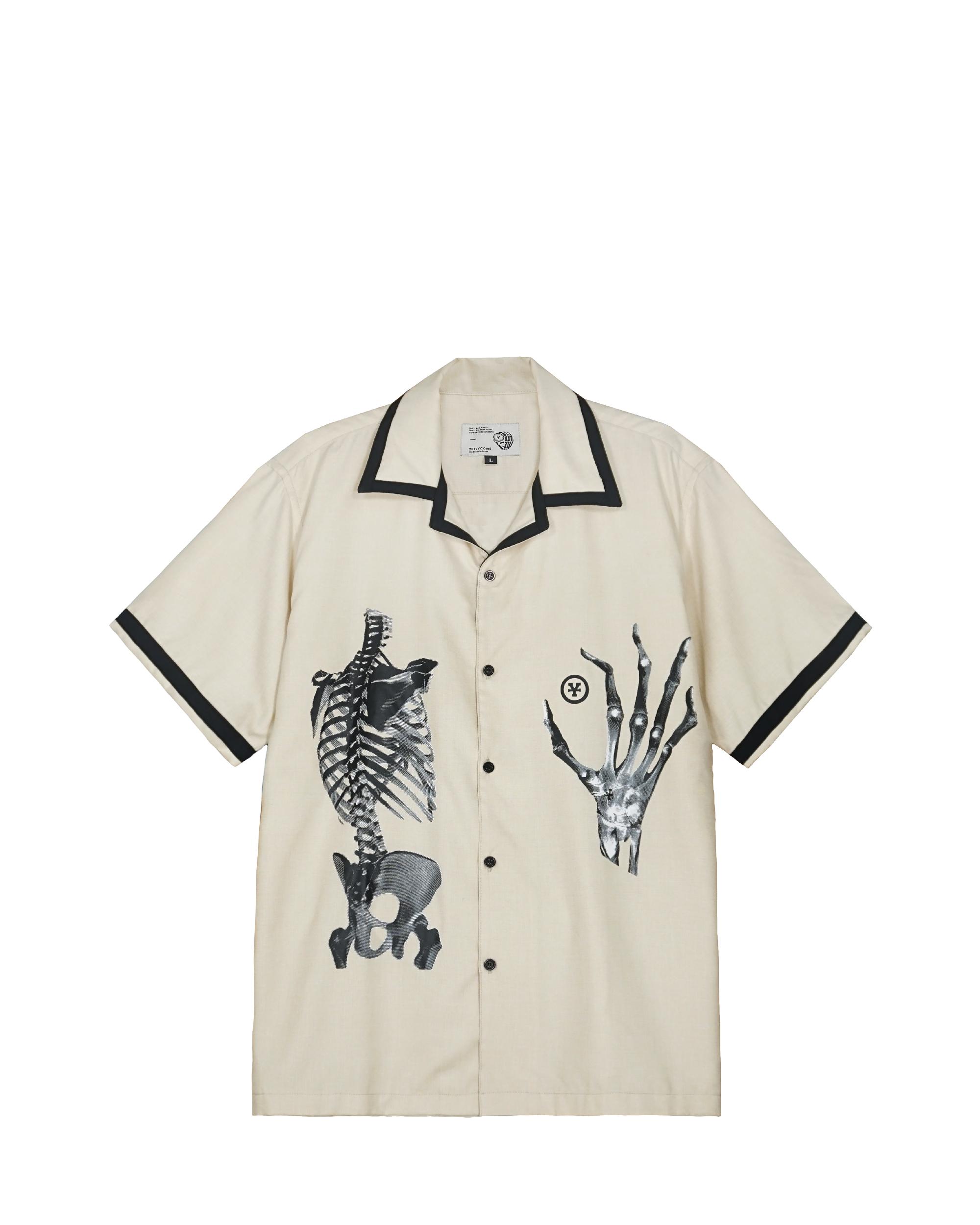 Skeleton Bowling Shirt