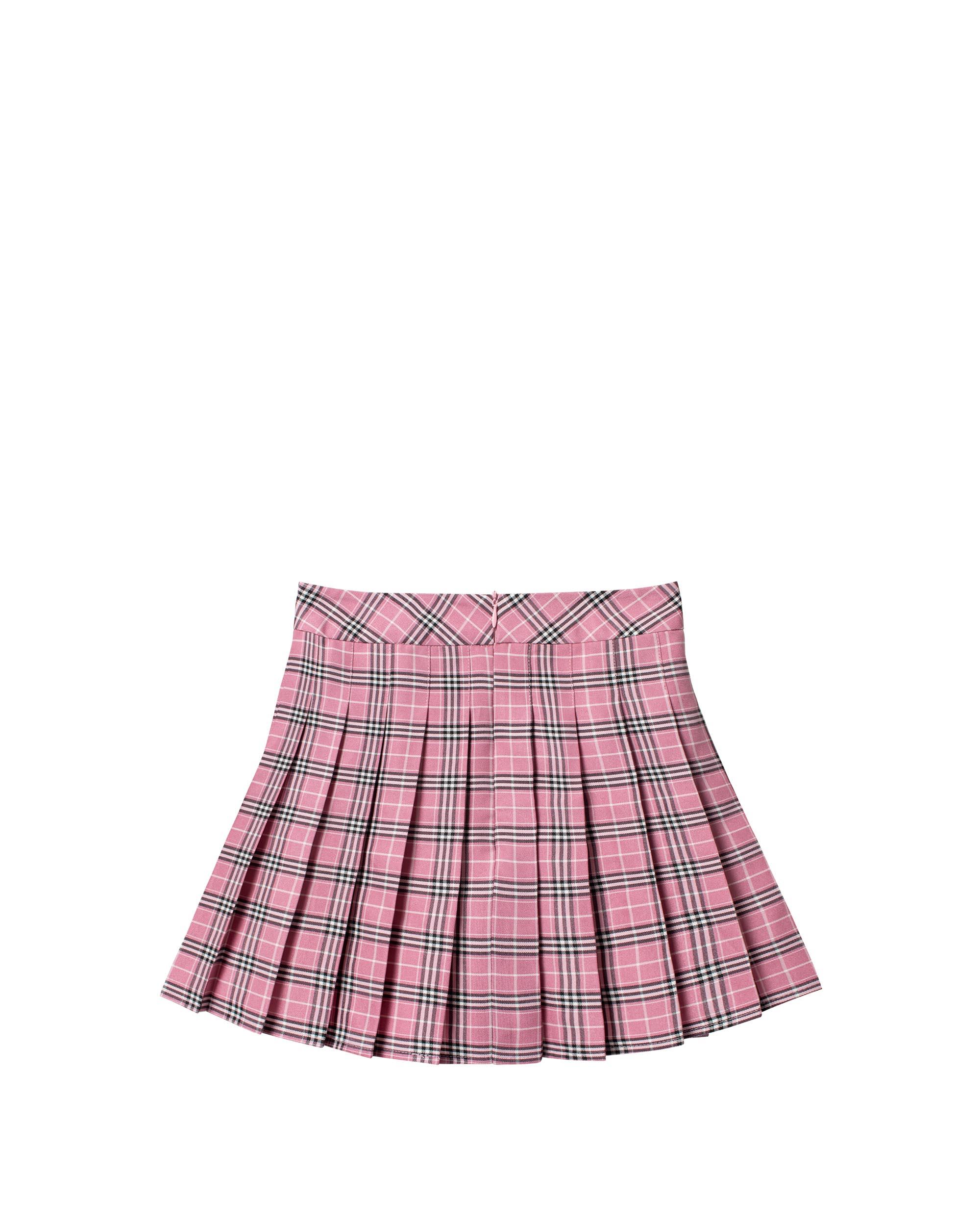 DirtyCoins Plaid Mini Skirt