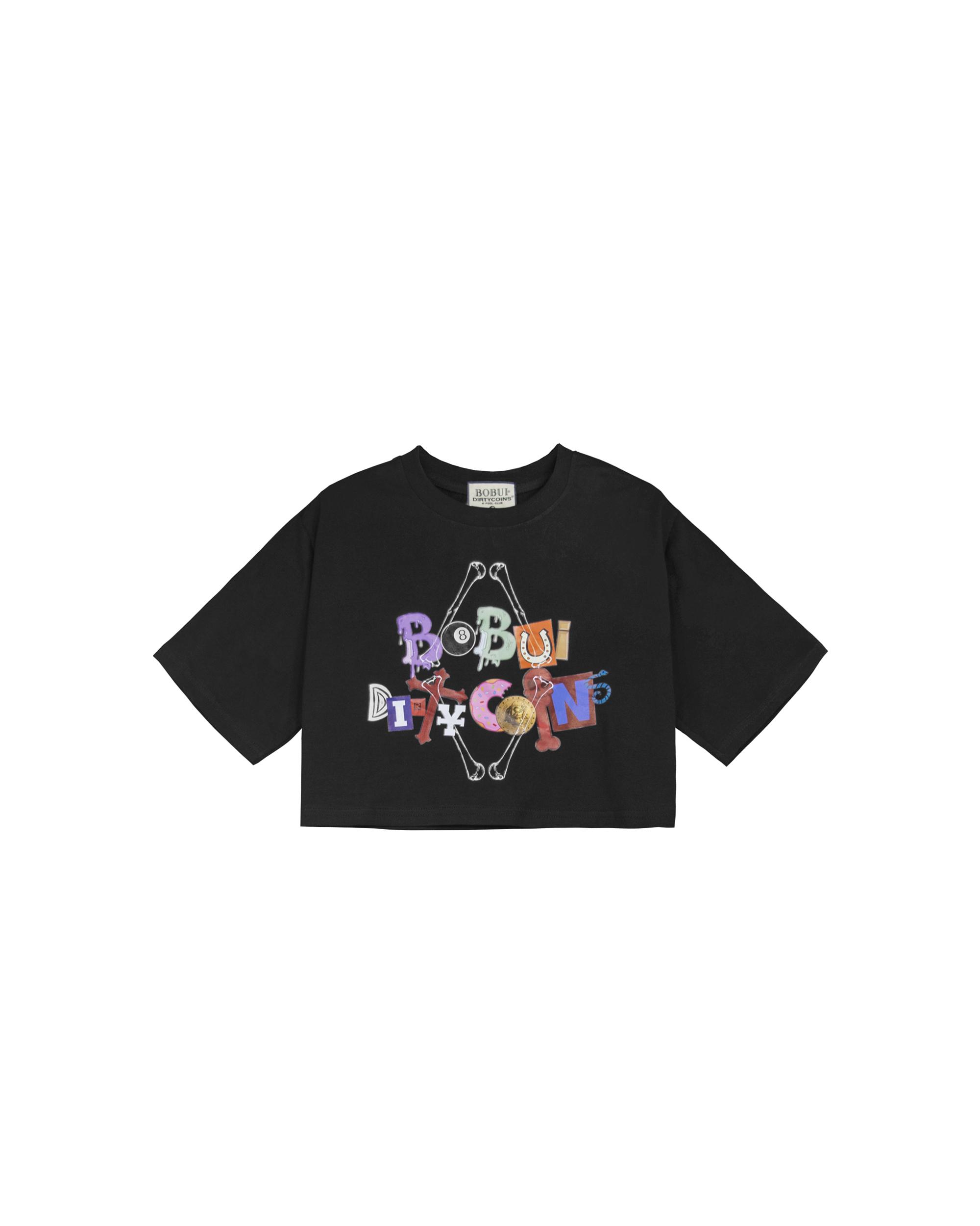 BXD - LOGO CROPTOP - BLACK