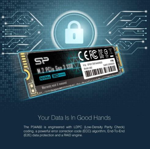 Ổ Cứng Gắn Trong SSD Silicon Power A60 M.2 2280 Gen 3x4 NVMe/Pcle - Hàng  Chính Hãng CÔNG TY TNHH THƯƠNG MẠI – KỸ THUẬT ONE BEE