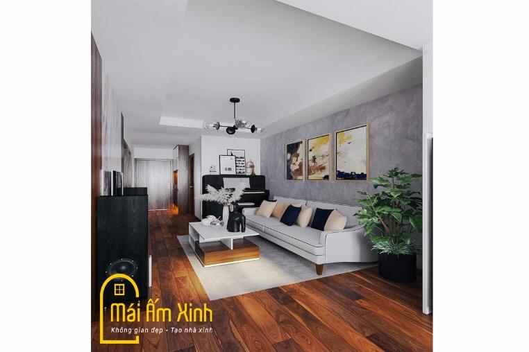 Thiết kế Nội thất - Bạn Thúy/Sky Central 176 Định Công