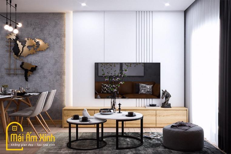 Thiết kế Nội thất - Chị Mai/Vinhomes Ocean Park