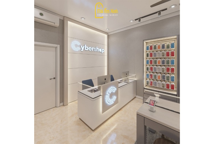 Thiết kế Nội thất - Cyber Shop