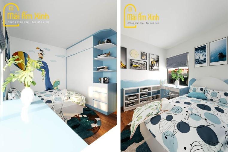 Thiết kế Nội thất - Chị Minh/Sky Central 176 Định Công