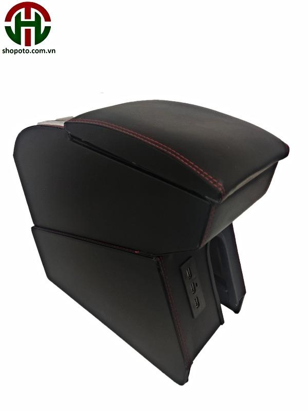 Hộp tỳ tay Hyundai I10 màu đen