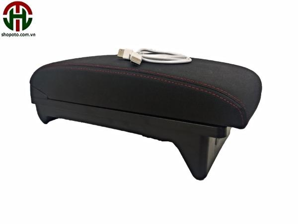 Hộp tỳ tay Mitsubishi Xpander màu đen