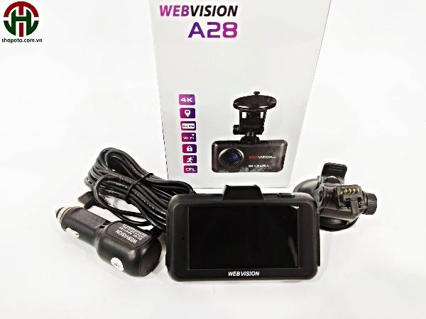 Camera hành trình Webvision A28