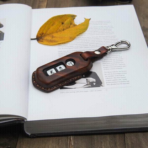 Bao da chìa khóa ô tô Handmade