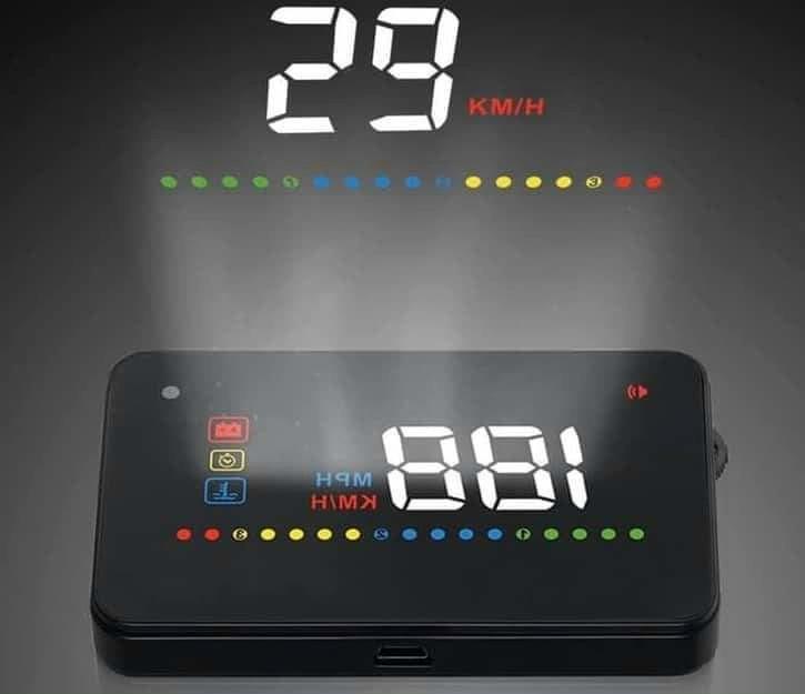 Hiển thị tốc độ trên kính lái HUD A200