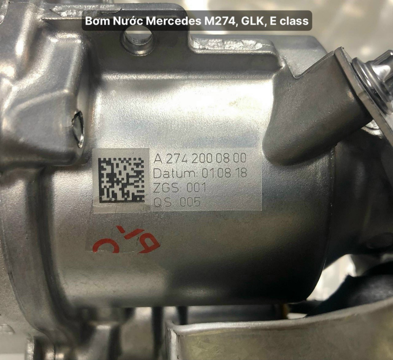 Bơm nước xe Mercedes E300