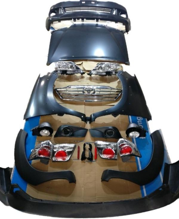 Body kit nâng đời Fortuner 2016
