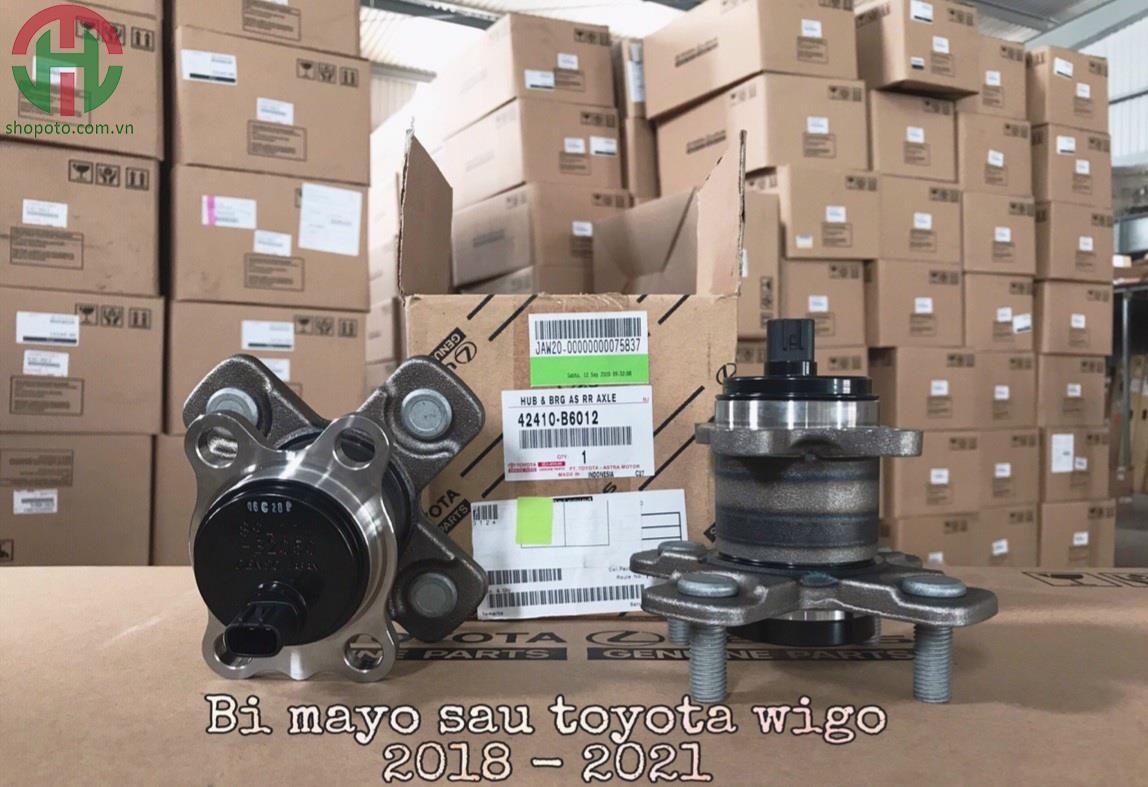 Cụm bi moay ơ sau Toyota Wigo 2018 - 2021