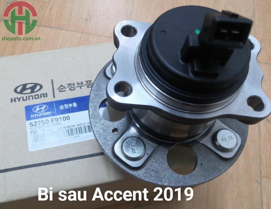 Cụm bi moay ơ sau Hyundai Accent 2019