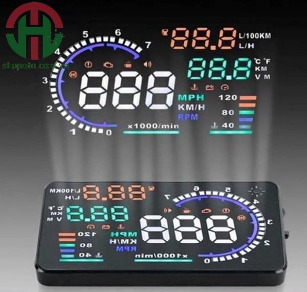 Hiển thị tốc độ kính lái HUD A8