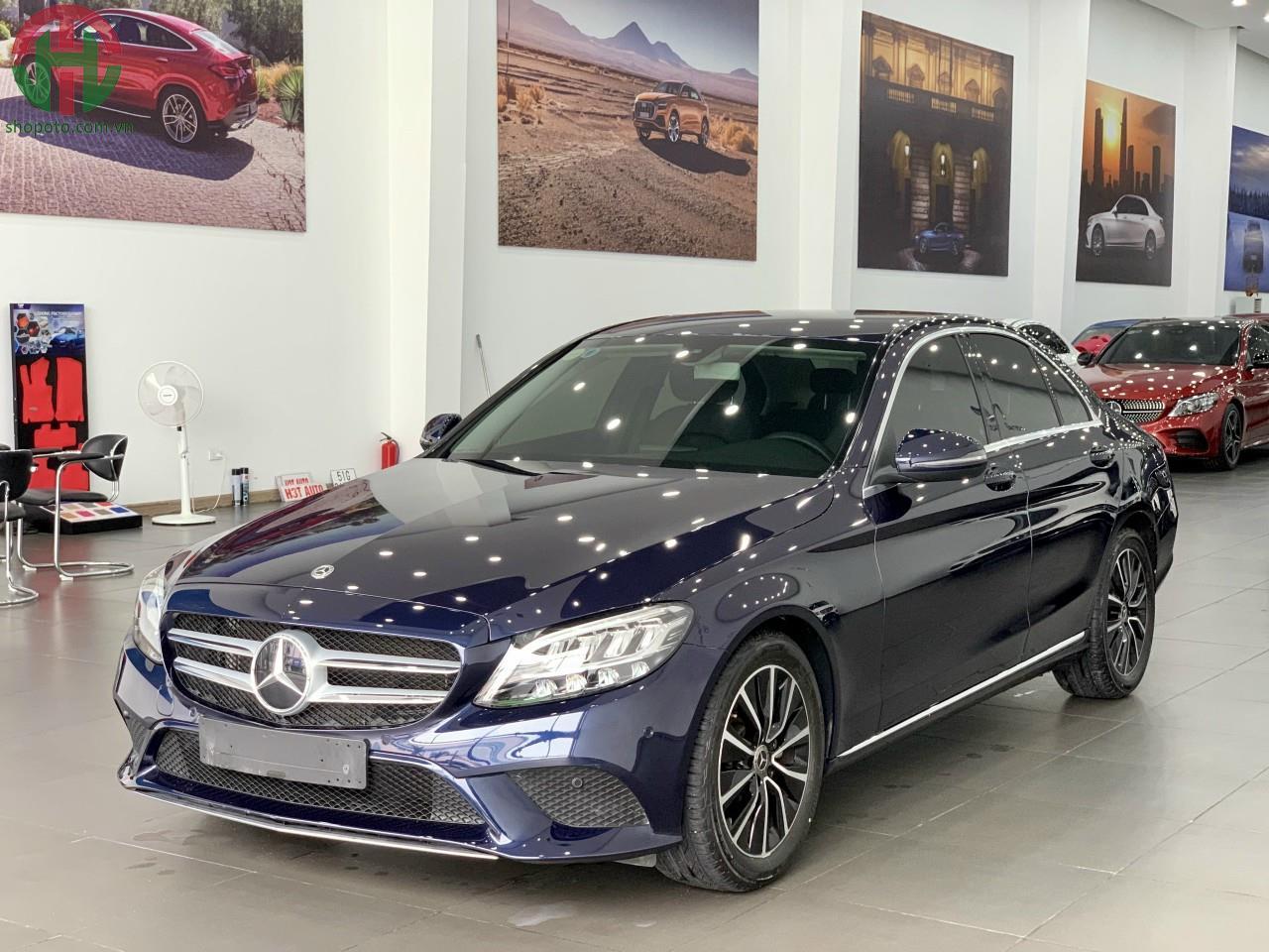 Mercedes C200 xanh Cavansite 2020