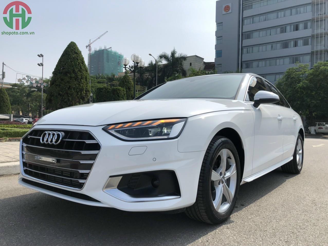 Audi A4 Trắng 2020