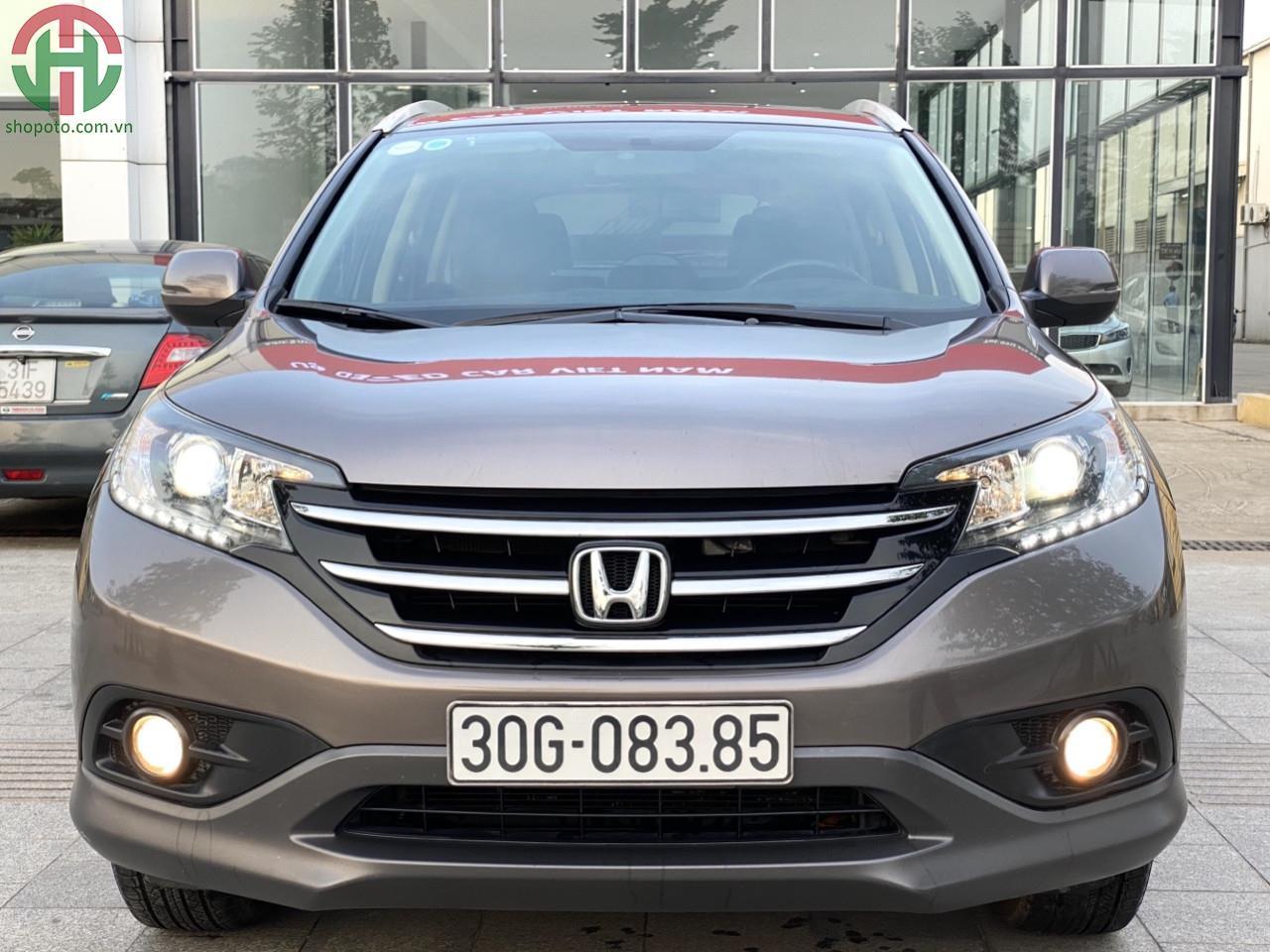 Honda CRV 2.4 AT 2013 màu Titan