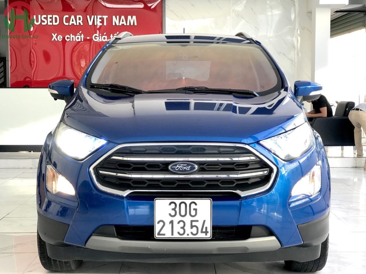 Ford EcoSport 1.5 L 2018 Titanium màu Xanh Thiên Thanh
