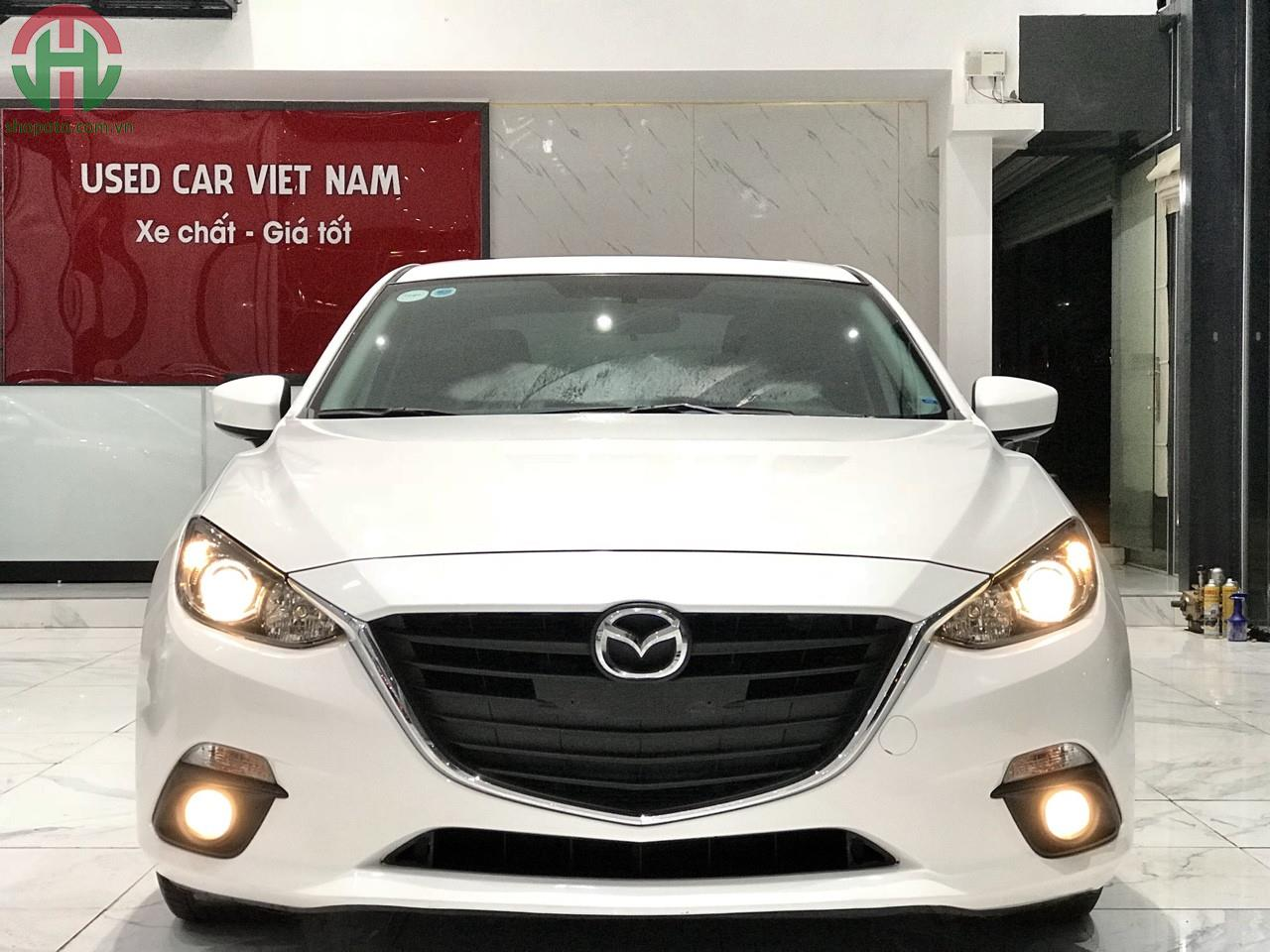 Mazda 3 1.5 AT 2016 Sedan màu Trắng