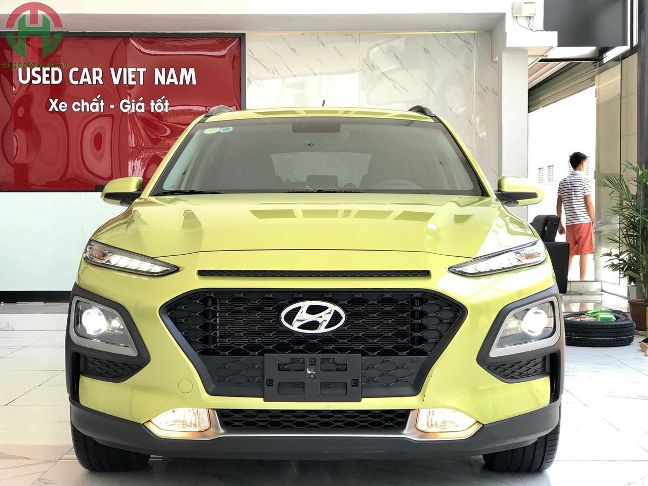 Hyundai KONA 2.0 AT 2019 Bản Đặc Biệt màu Xanh