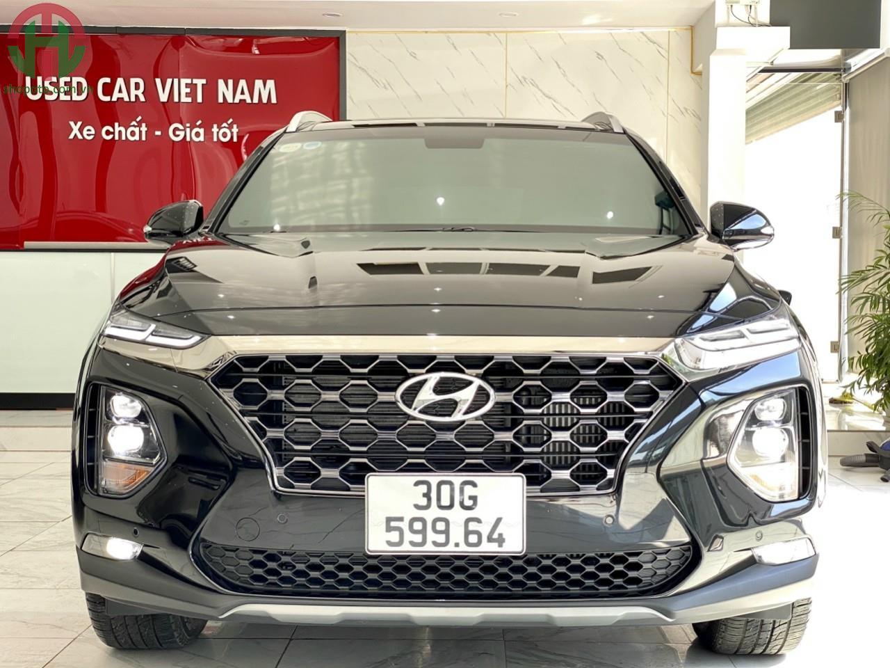 Hyundai Santafe 2.2 L AT 2020 Premium Màu Đen