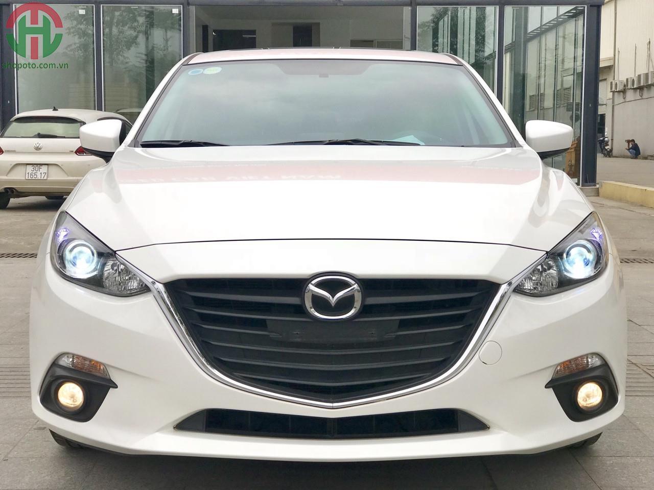 Mazda 3 1.5 AT Sedan 2016 màu Trắng