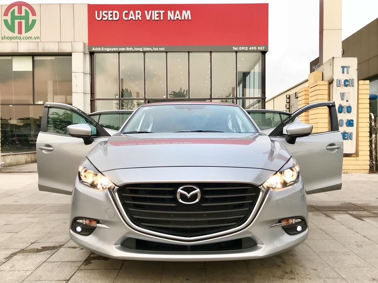 Mazda 3 1.5 AT 2017 Facelift màu Bạc