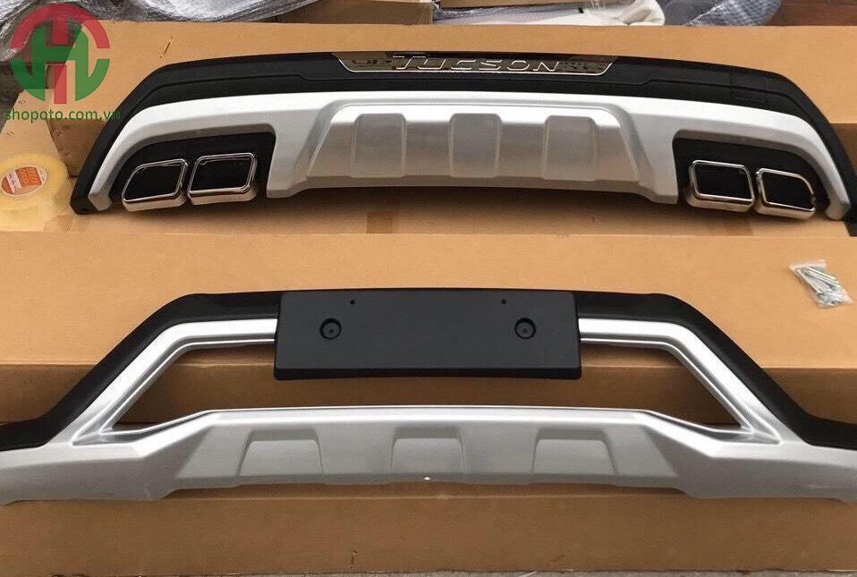Ốp cản trước sau Hyundai Tucson 2018