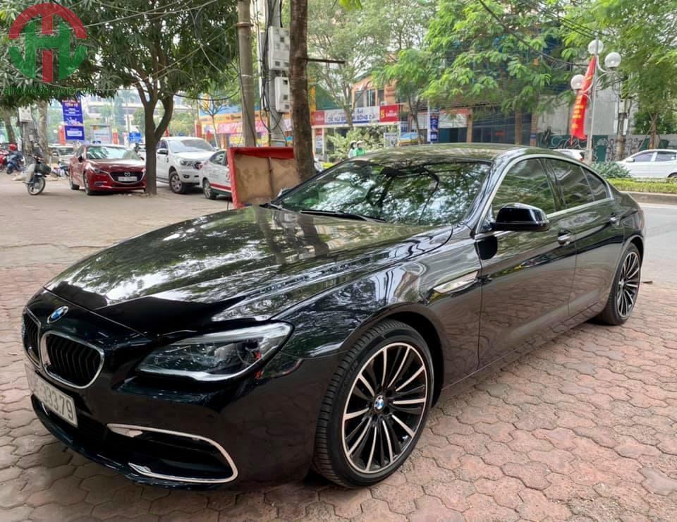 BMW 640i Grand Coupe facelift 2016 Màu Đen