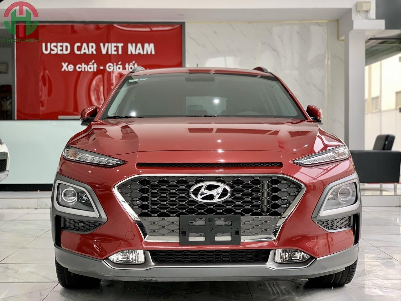 Hyundai Kona 1.6 Turbo 2019 màu Đỏ