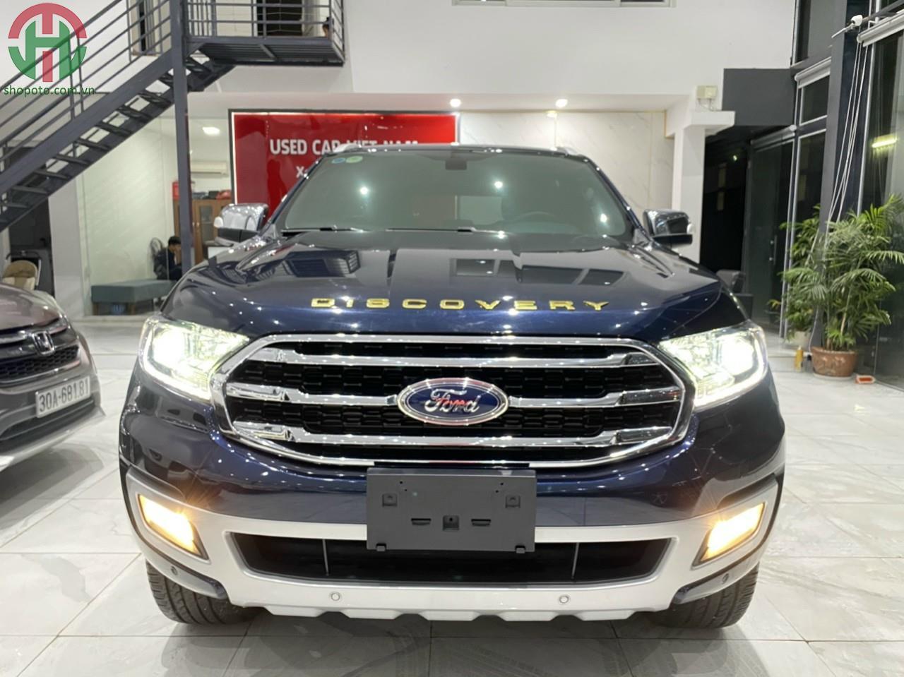 Ford Everest Titanium Turbo 2020 màu Xanh