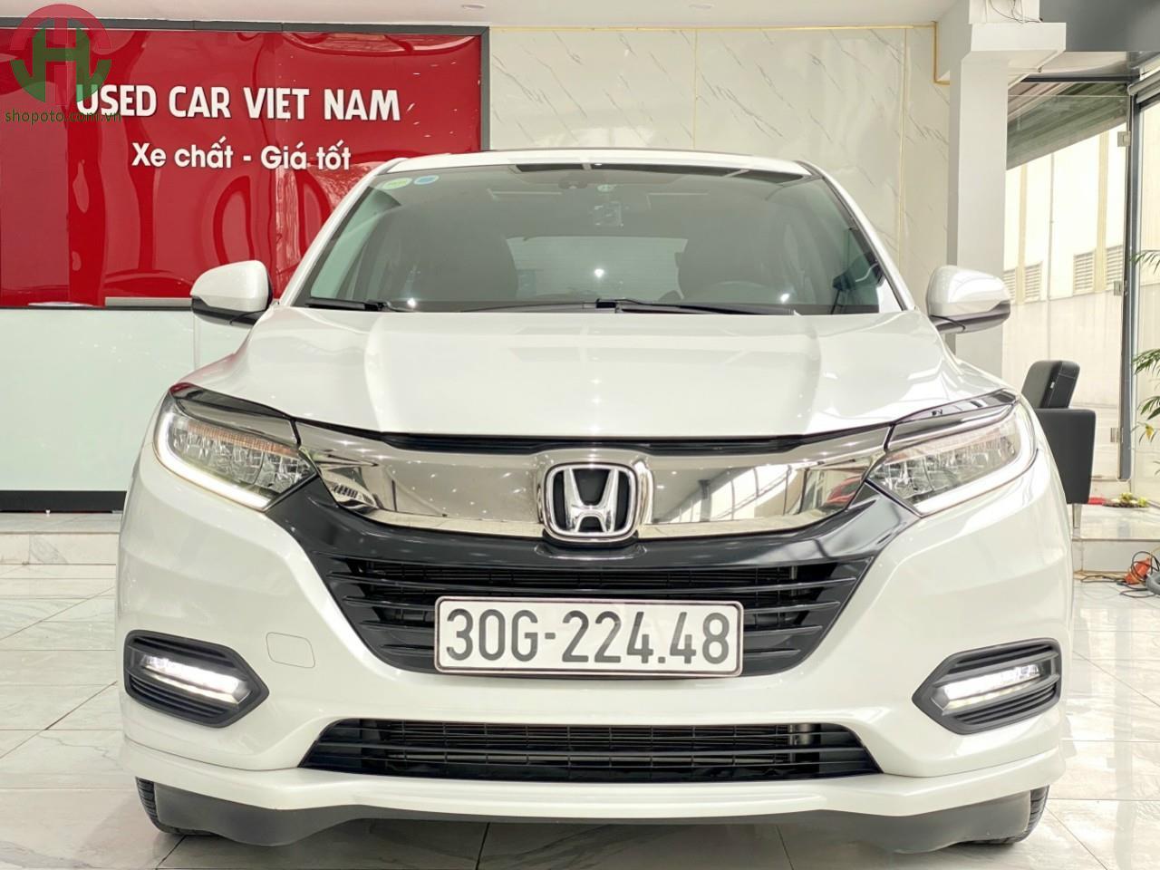Honda HRV 1.8 L màu Trắng Model 2020