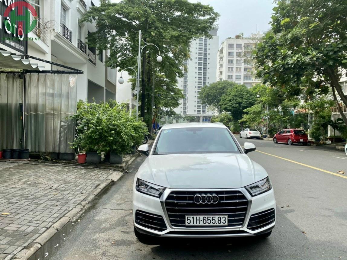 Audi Q5 Model 2020 Màu Trắng