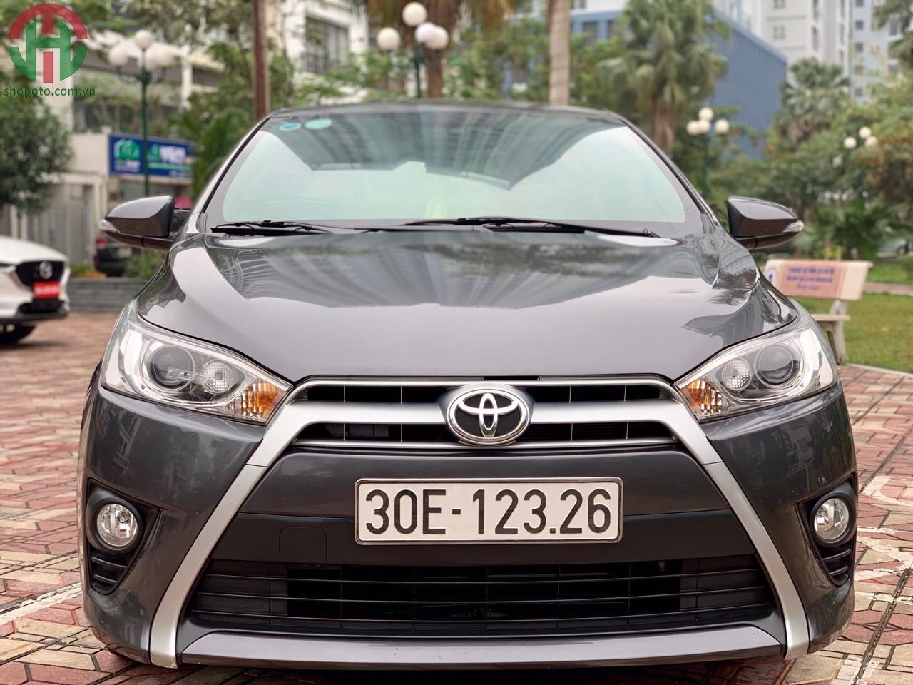 Toyota Yaris 1.5 G Model 2015 màu Xám