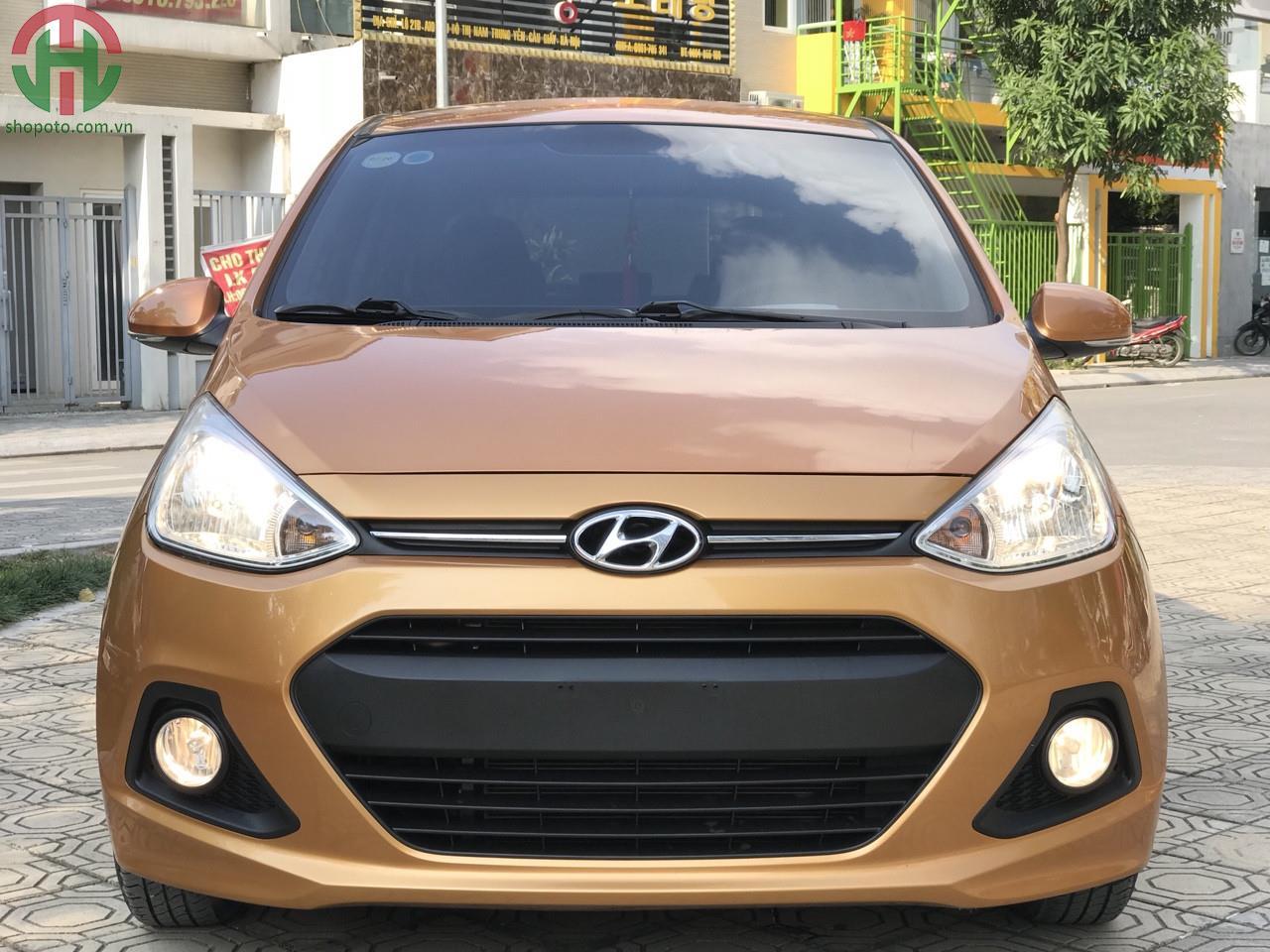 Hyundai I10 1.2 AT Hatchback 2015 màu Vàng Cam