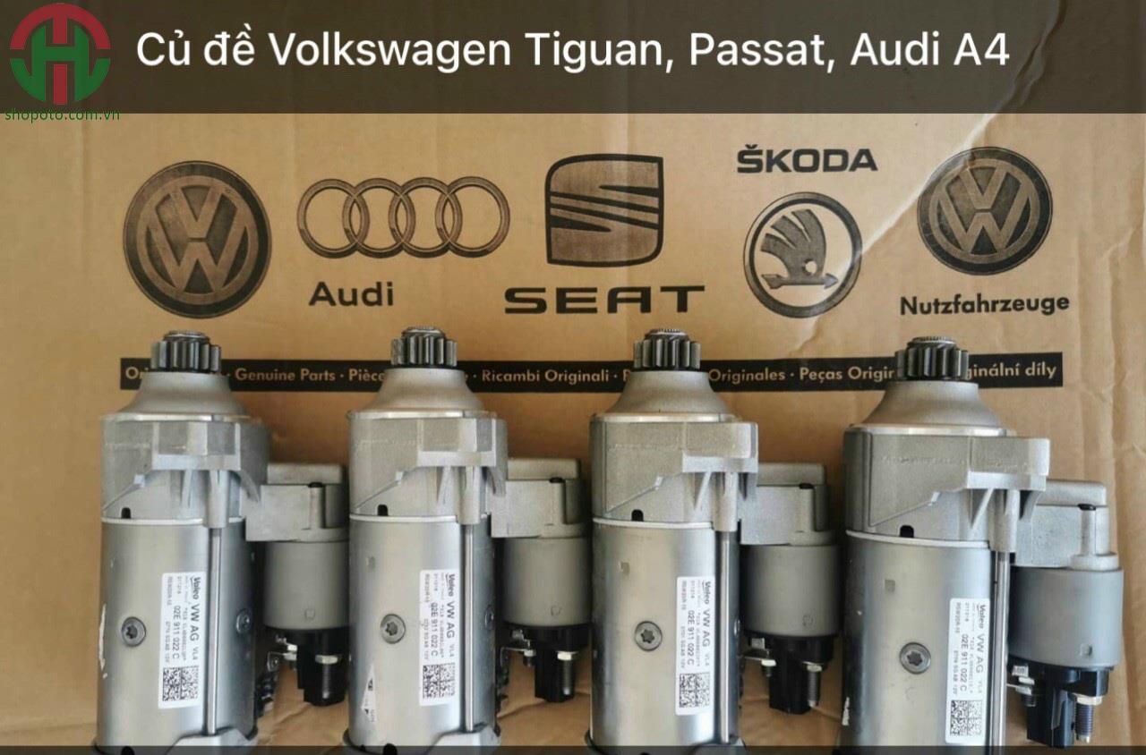 Củ đề - máy khởi động Audi A4