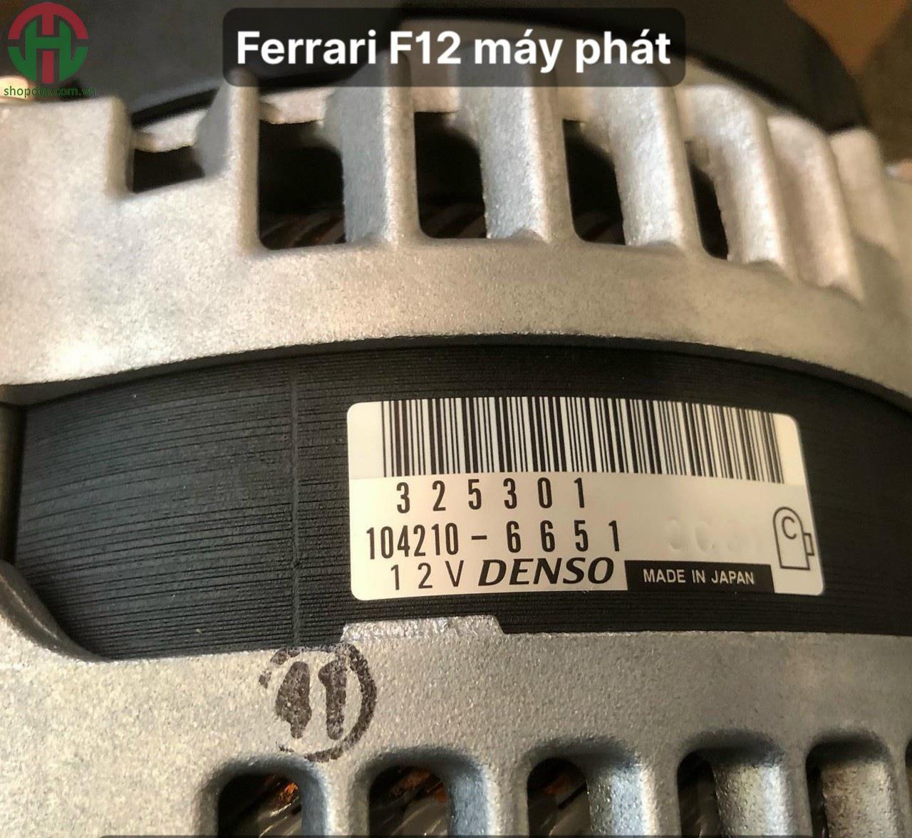 Máy phát xe Ferrari F12