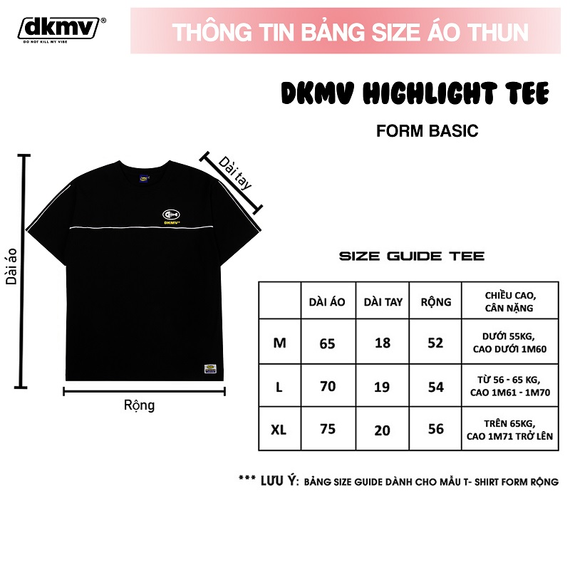 áo thun local brand đẹp DKMV highlight tee streetwearr