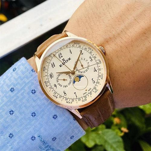 Đồng hồ Edox 40101 37RC BEBR