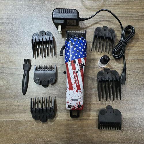 Tông đơ cắt tóc Bestbomg lá cờ mỹ