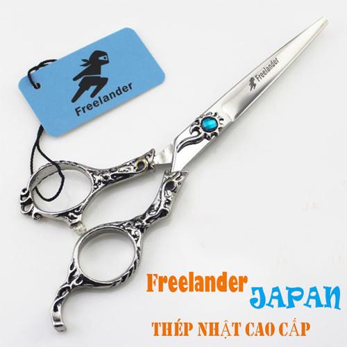 Bộ 2 kéo cắt tỉa tóc nam Freelander LCC90 Nhật Bản