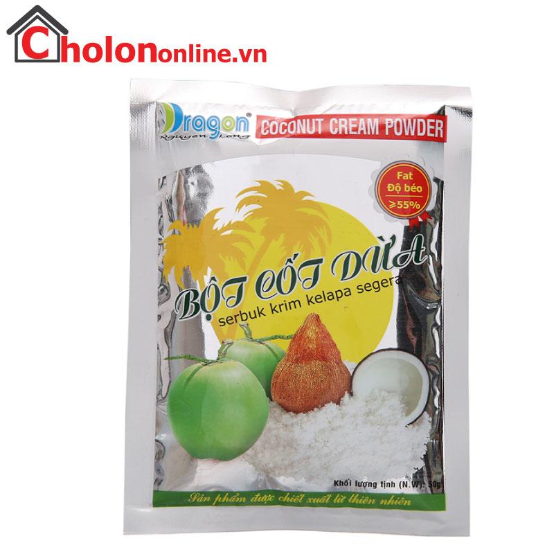 Bột cốt dừa Dragon 50g
