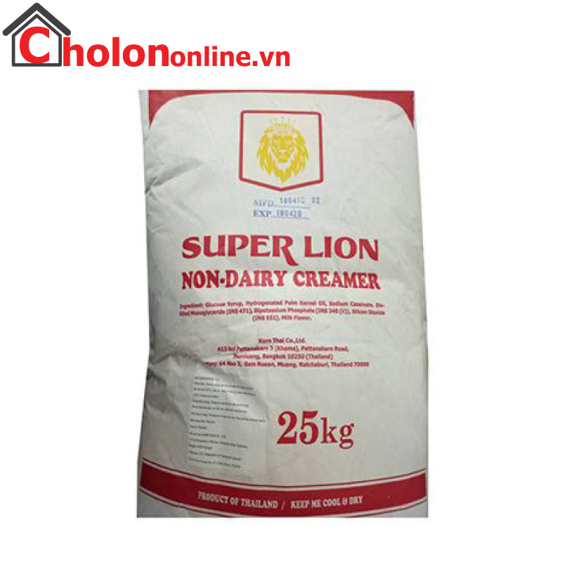 Bột kem béo Thái Lan Super Lion 25kg