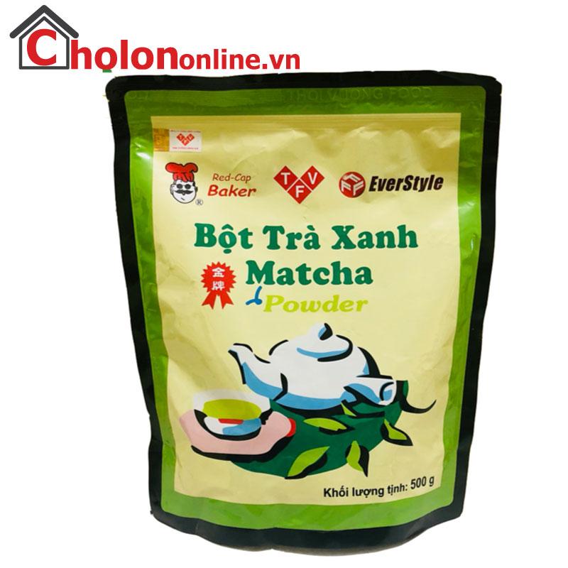 Bột trà xanh Đài Loan Everstyle gói lẻ 100g