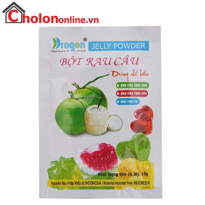 Rau câu trái dừa Nguyễn Long hộp 12 gói