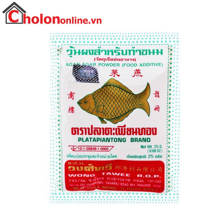 Bột rau câu cá giòn Thái Lan 25g