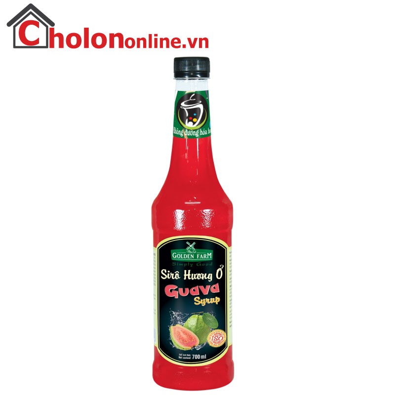 Sirô Golden Farm 700ml - ổi