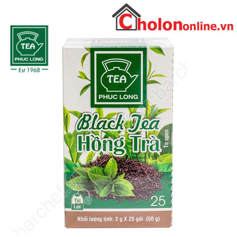 Hồng trà túi lọc Phúc Long