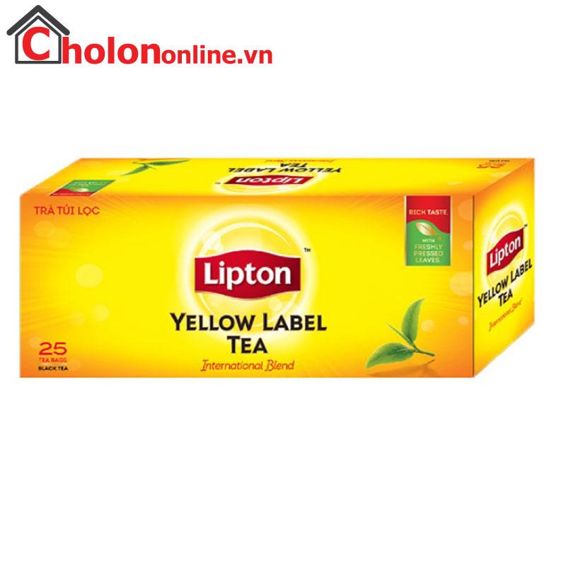 Trà Lipton nhãn vàng 25 gói
